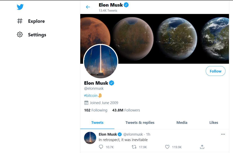 Elon Musk Bit Coin