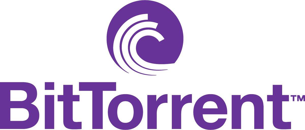 Bittorrent Logo Purple