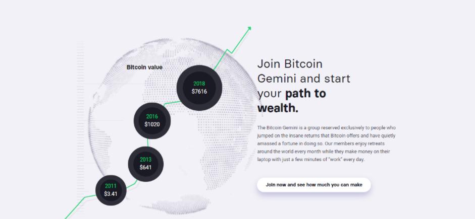 Bitcoin Gemini  trading robot